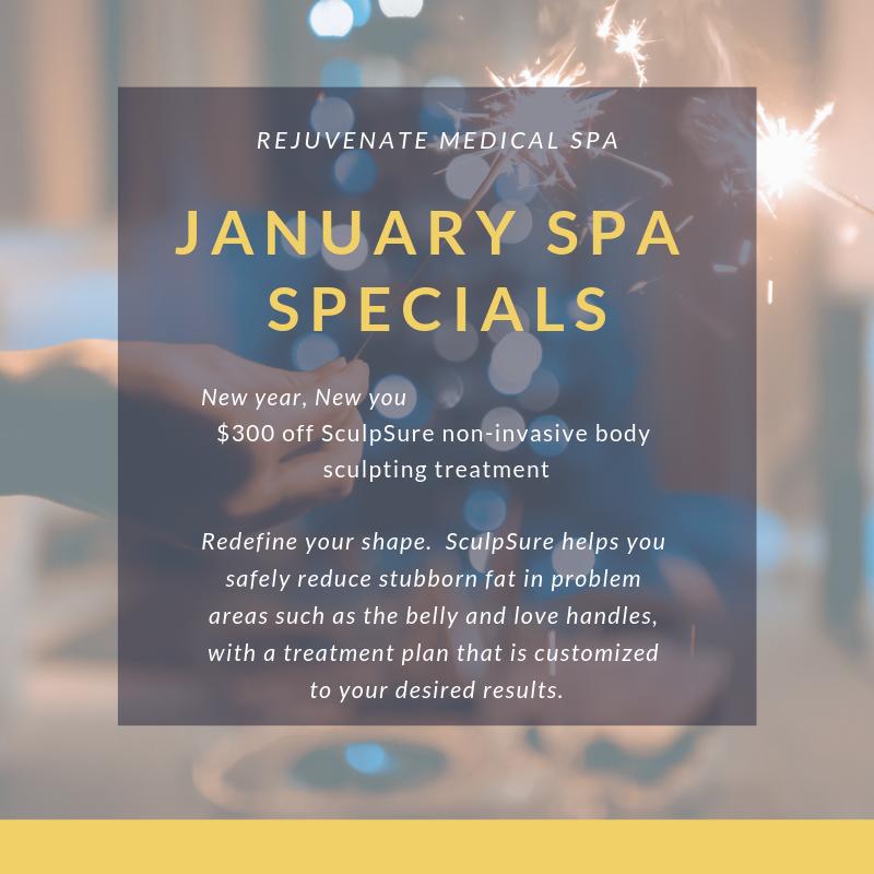 January 2019 Spa Specials!